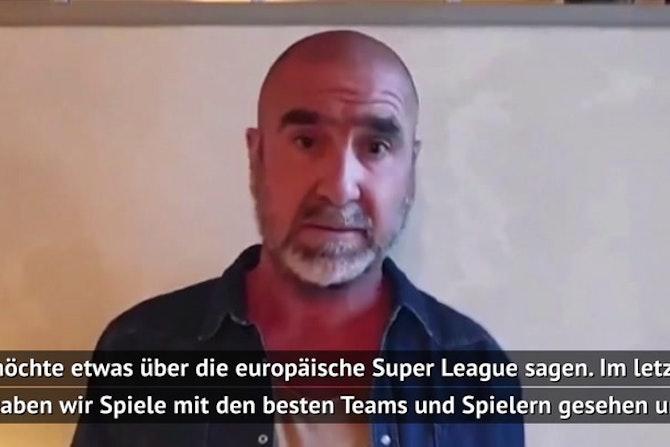 Cantona zur Super League: Man muss Fans respektieren