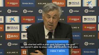 Preview image for Carlo Ancelotti: 'We didn't play well and it's a deserved result'