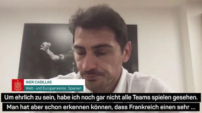 Casillas: Deutschland bot Frankreich die Stirn