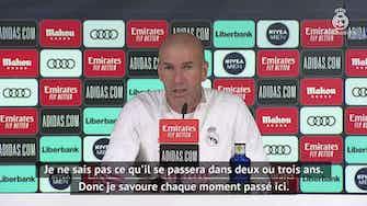 Image d'aperçu pour Real - Zidane toujours flou sur son avenir