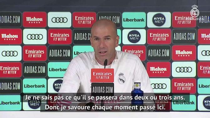 Real - Zidane toujours flou sur son avenir