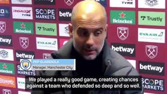 Preview image for Man City will be back - Guardiola on the end of EFL Cup dominance