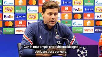 """Anteprima immagine per Pochettino su Donnarumma: """"Decido partita per partita"""""""