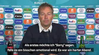Vorschaubild für Nach Eriksen-Schock: Hjulmands emotionales Statement