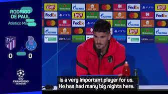 Preview image for De Paul backs Griezmann despite boos at Atletico