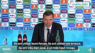 """Image d'aperçu pour Quarts - Shevchenko : """"Je vois l'Angleterre aller en finale"""""""