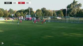 Vorschaubild für HSC bezwingt FCO! | Highlights - HSC Hannover vs. FC Obernueuland