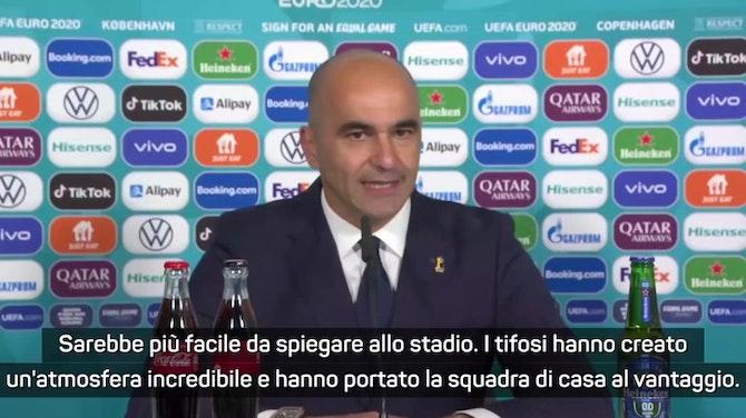 """Belgio, Martinez: """"Che atmosfera allo stadio! De Bruyne? Non solo talento"""""""