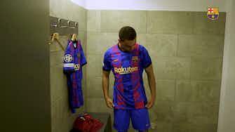 Image d'aperçu pour Barcelone révèle son maillot pour la Ligue des Champions