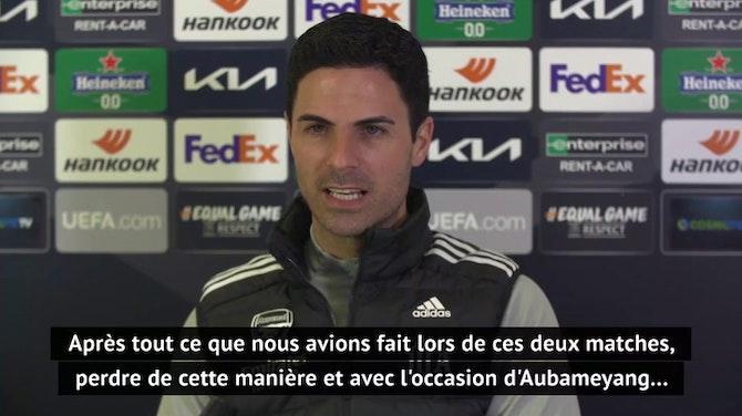 """8es - Arteta : """"Un peu de ressentiment envers l'Olympiakos"""""""
