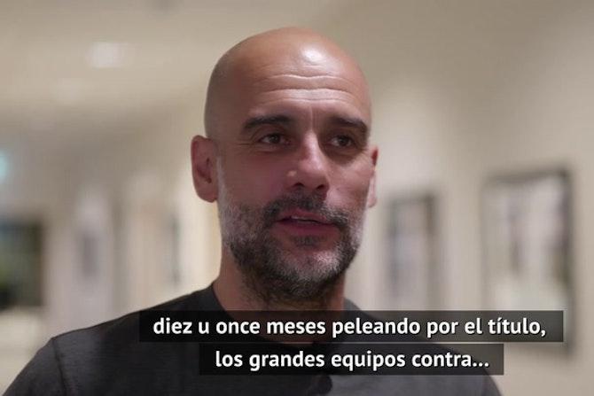 """Guardiola: """"La Premier League es el título más importante"""""""
