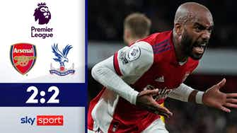 Vorschaubild für In letzter Sekunde! Lacazette rettet Arsenal | FC Arsenal - Crystal Palace 2:2 | Highlights