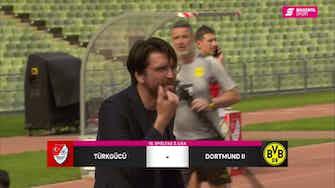 Vorschaubild für Türkgücü München - Borussia Dortmund II (Highlights)