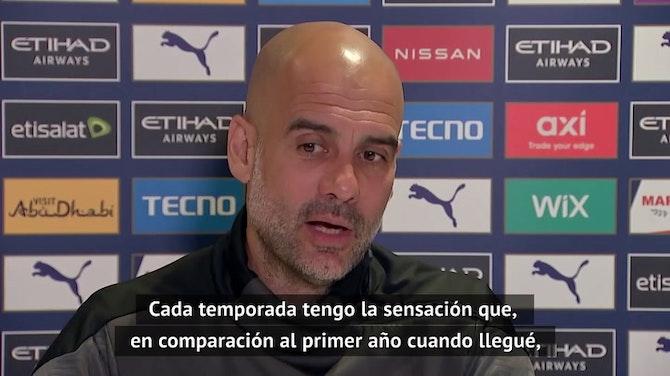 """Guardiola defiende a Arteta: """"Conozco a Mikel, el Arsenal dará un paso adelante la próxima temporda"""""""