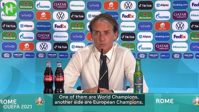 Mancini believes Italy not favourites but warns best yet to come