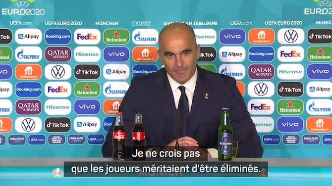 """Image d'aperçu pour Quarts - Martinez : """"Triste pour mes joueurs"""""""