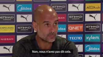 """Image d'aperçu pour Manchester City - Guardiola : """"Nous avons besoin du soutien des fans"""""""