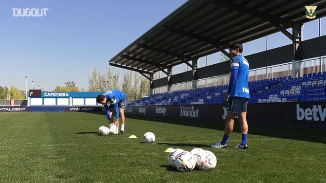 Mini goals challenge: Gaku Shibasaki vs Rubén Pardo