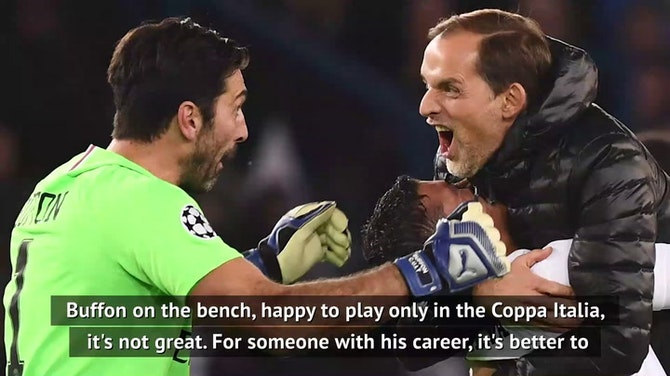It's a shame to see Buffon play on - World Cup finalist Paglicua