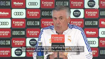 Preview image for Carlo Ancelotti: 'The key to it is balance: performing well with and without the ball'
