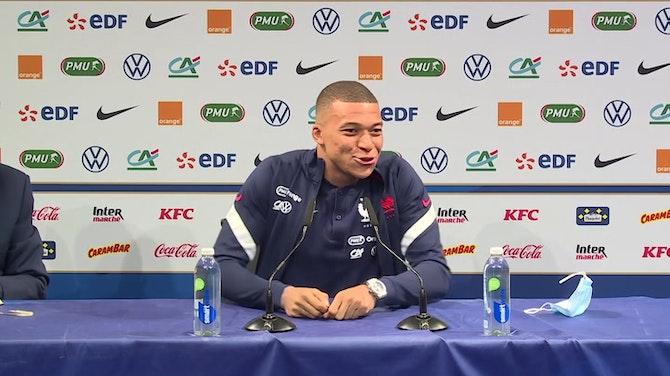 """Bleus - Mbappé : """"On ne peut pas comparer Neymar, Benzema ou Giroud"""""""