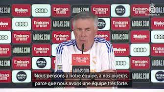 """Image d'aperçu pour Real - Ancelotti """"pas déçu"""" de ne pas avoir fait signer Mbappé"""