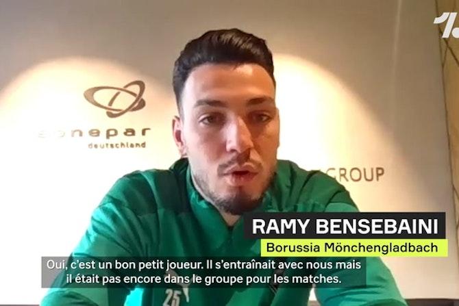 """Bensebaini : """"Camavinga ? Il a les qualités pour jouer partout"""""""