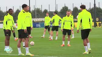 Imagem de visualização para Sem Haaland, Dortmund finaliza preparação para duelo na Champions