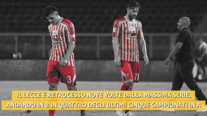 Lotta salvezza, il Lecce torna in Serie B