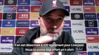 """Image d'aperçu pour 6e j. - Klopp : """"Les statistiques de Salah sont dingues"""""""
