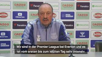 """Vorschaubild für Benitez: Abgang von James war """"kompliziert"""""""