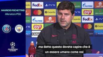 """Anteprima immagine per Pochettino chiede tempo: """"Messi è un uomo. Diamoglielo"""""""
