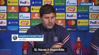 """Anteprima immagine per Gigio-Navas, Pochettino: """"Non ho deciso...anzi sì"""""""