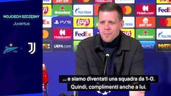 """Anteprima immagine per Szczesny elogia Allegri: """"Siamo diventati una squadra da 1-0"""""""