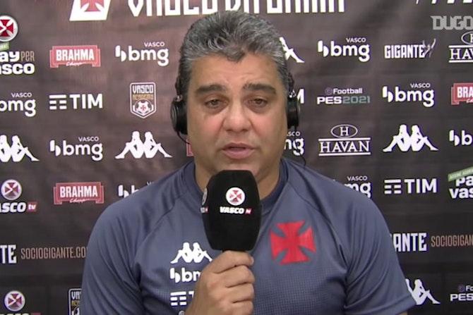 """Cabo fala sobre ausência de Marquinhos Gabriel: """"Não podemos ficar refém"""""""
