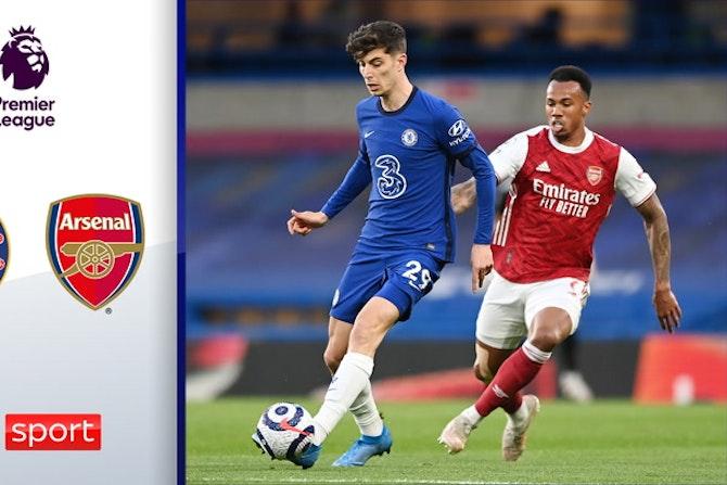 Doppel-Alu! Havertz & Chelsea im Pech | Highlights: Chelsea - Arsenal 0:1