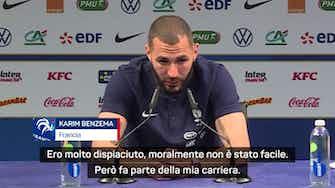 """Anteprima immagine per L'emozione di Benzema: """"Grazie Didier. Ti voglio bene mamma!"""""""