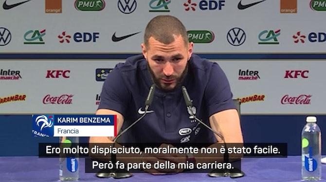 """L'emozione di Benzema: """"Grazie Didier. Ti voglio bene mamma!"""""""