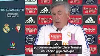"""Imagen de vista previa para El gesto de Ancelotti con Koeman: """"No se puede tolerar la mala educación"""""""