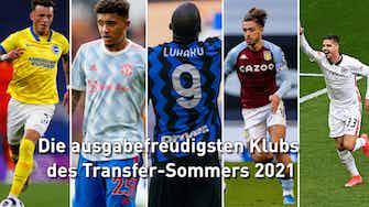 Vorschaubild für Leipzig auf Platz fünf: Die ausgabefreudigsten Klubs des Transfer-Sommers