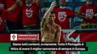"""Anteprima immagine per Santos e il record di Ronaldo: """"Siamo soddisfatti, ma non sorpresi"""""""
