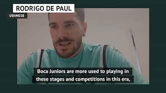 Preview image for Racing or Boca? - De Paul picks his Copa Lib semi-finalist