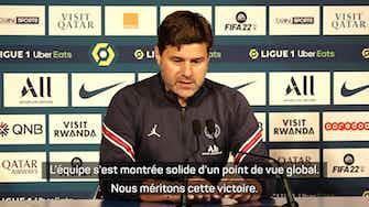 """Image d'aperçu pour FOOTBALL : Ligue 1 : 8e j. - Pochettino : """"Nous méritons cette victoire"""""""