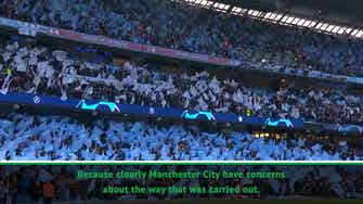 Preview image for I respect the system - UEFA president on Man City ban