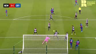 Preview image for Riedewald's thumping goal vs Newcastle