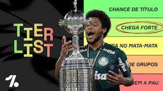 Imagem de visualização para Flamengo, Palmeiras... Até onde chegam os Brasileiros na LIBERTADORES 2021?