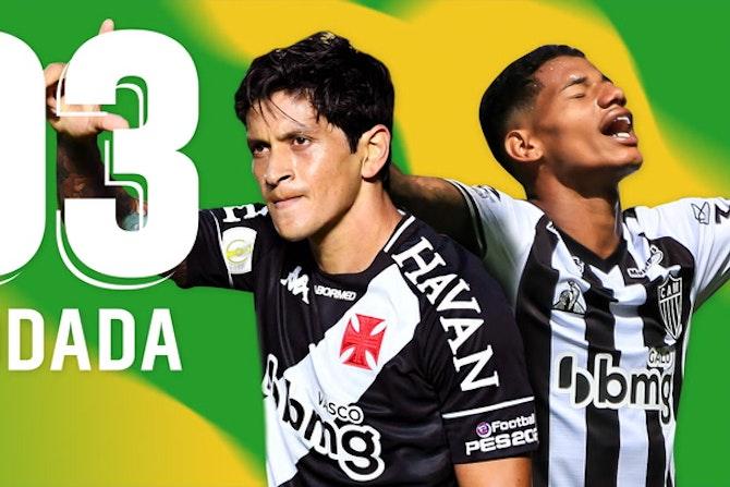 Seleção da 3ª Rodada! Cano ÍDOLO, Mengão Respira e GALO 100%! Tudo sobre o BRASILEIRÃO!