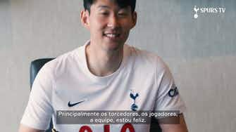 """Imagem de visualização para Son renova com o Tottenham até 2025: """"Quero ganhar títulos aqui"""""""