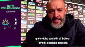 """Imagen de vista previa para Nuno, sobre la interrupción del partido: """"El árbitro tomó la decisión correcta"""""""