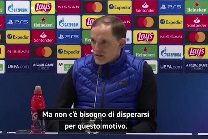 """Tuchel perdona Werner: """"Farà gol alla prossima"""""""